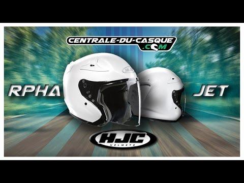 Casque Jet Hjc Rpha Jet Centrale Du Casquecom