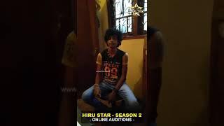 R.ushan Kavinda Hiru Star Season 02 Online Auditions.mp3