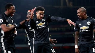 ARSENAL 1-3 MANCHESTER UNITED | PREMIER LEAGUE | GOALS: VALENCIA, LINGARD (2), LACAZETTE