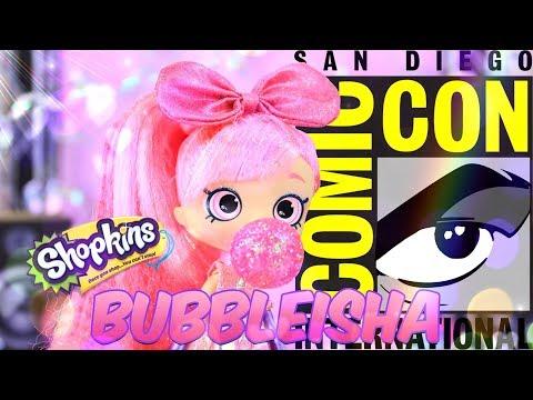 Unbox Daily: SHOPKINS COMICON Exclusive BUBBLEISHA Shoppie PLUS Giveaway!!