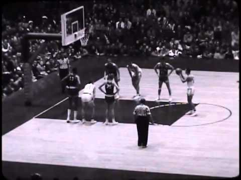 Northwestern Basketball vs. Kansas, 12/7/1957