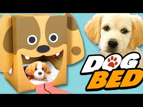 DIY Dog Bed - Cardboard Craft Ideas For Kids | Box Yourself