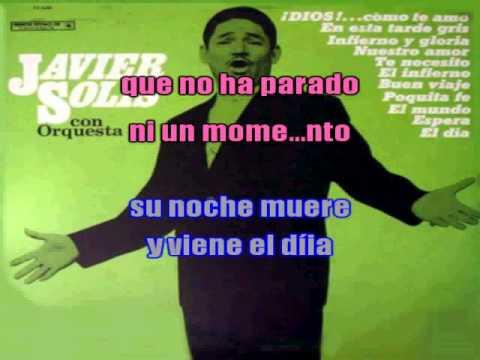 EL MUNDO KARAOKE JAVIER SOLIS