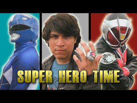 Its Morphin Time! Super Sentai Kamen Rider Super Hero Time!  Film
