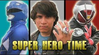 Its Morphin Time! Super Sentai Kamen Rider Super Hero Time! [Fan Film]