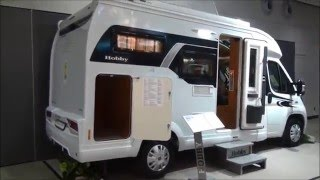 Hobby Optima V60  motorhome review