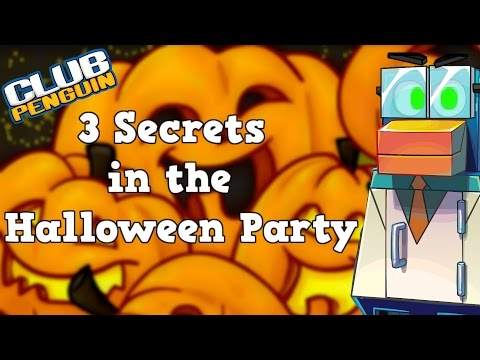 Club Penguin: 3 Secrets of the Halloween Party 2015
