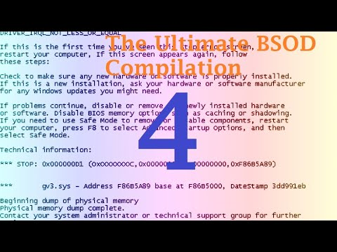 The Ultimate BSOD Compilation 4 (REAL)