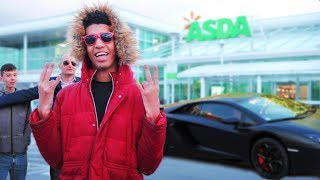 One of Niko Omilana's most viewed videos: FAKE CELEBRITY PRANK In GROCERY STORE