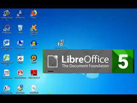 Instalação do Libre Office 5 1 no Windows 7 de 32 Bits - 2018