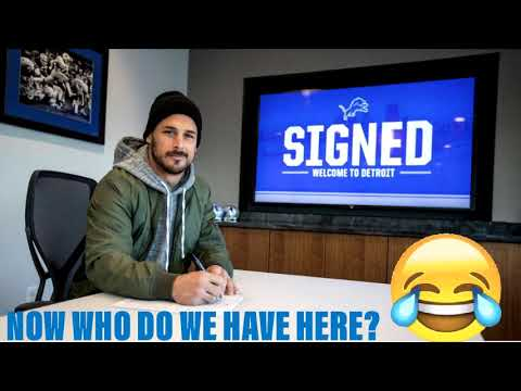 NFL FREE AGENCY 2019: SO THE DETROIT LIONS DO SIGN DANNY AMENDOLA!