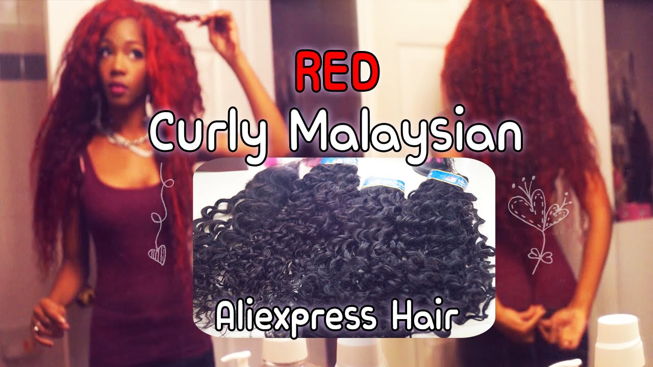 Red Curly Malaysian Hair Review
