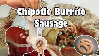 Chipotle Steak Burrito Sausage