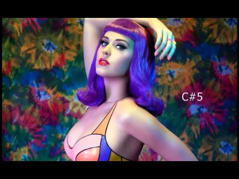 Katy Perry Vocal Range: D3 - A5 - Bb6(C#7)