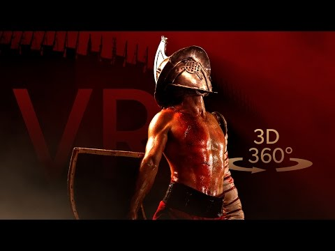 Gladiators In The Roman Colosseum VR 3D 360°