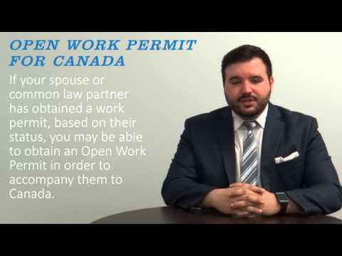 Open Work Permit for Canada - YouTube