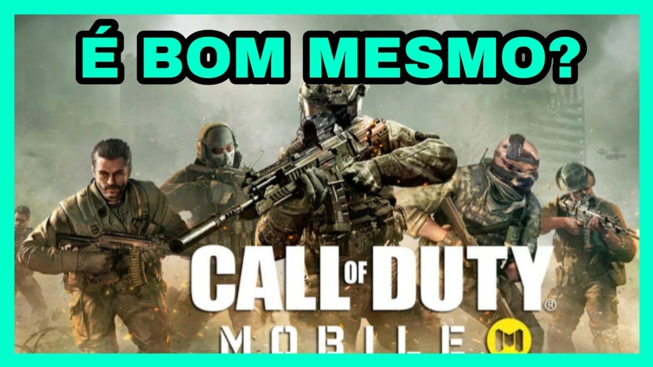 Call Of Duty: Mobile - O Que Achei Do Game!? - Gameplay PT-BR