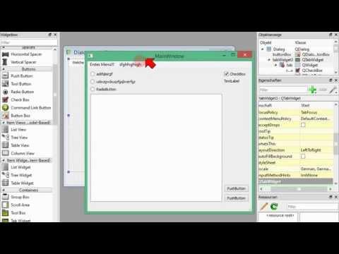 Dialoge mit Qt Designer erstellen und in Python nutzen