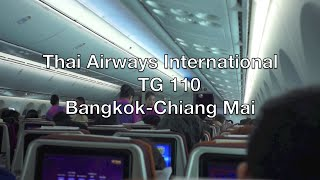 Thai Airways Boeing 787-8 Dreamliner Flight Report: TG 110 Bangkok to Chiang Mai