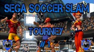 SEGA SOCCER SLAM - TOURNEY # 1 - PS2 CLASSIC