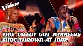 Cedric Neal sings 'Higher Ground' by Stevie Wonder | The Voice Stage #7
