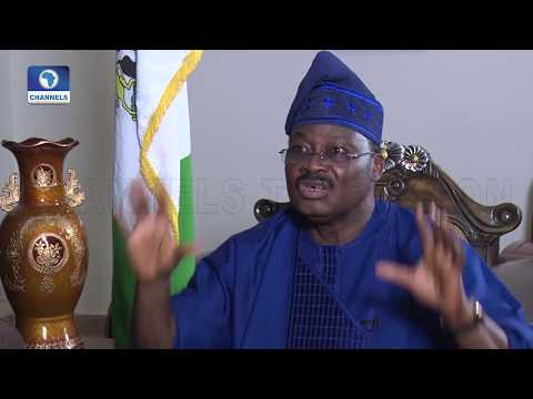 """""""Media don't report the truth all the time"""" – Governor Ajimobi"""