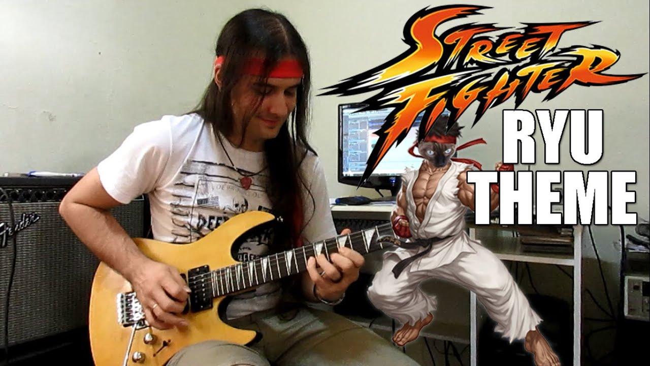 Street Fighter Ryu Theme Guitar Chords - Chordify