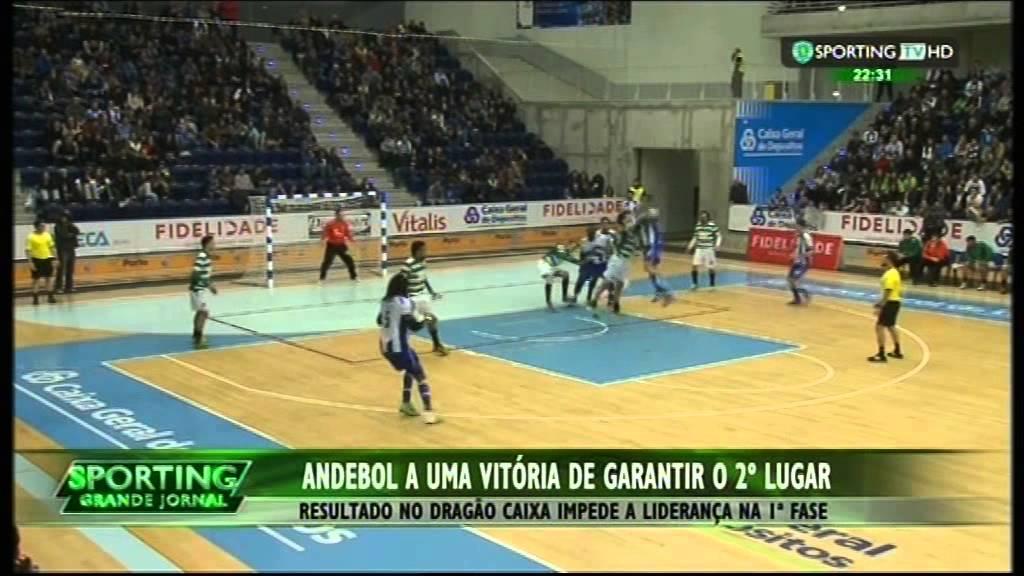 Andebol :: 21J :: Porto - 20 x Sporting - 19 de 2014/2015