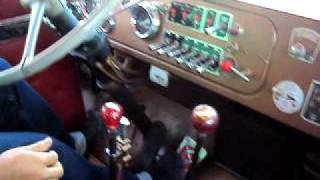1961 Kenworth rat rod twin stick shifting and jakes