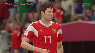 World Cup 2018 Russia vs Saudi Arabia - Full Match Sim (FIFA 18)