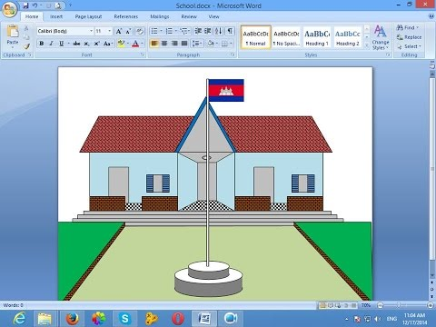 How to draw in Microsoft Word