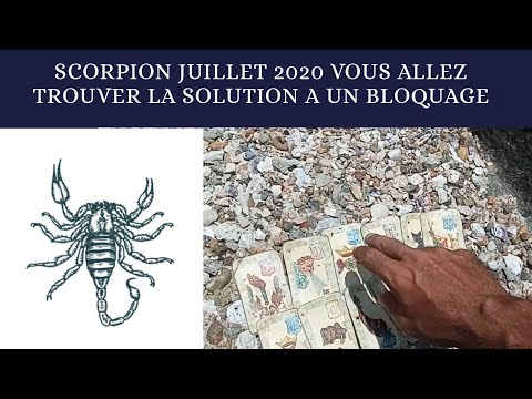 Scorpion Juillet 2020 Tirage Oracle Belline from YouTube · Duration:  11 minutes 31 seconds