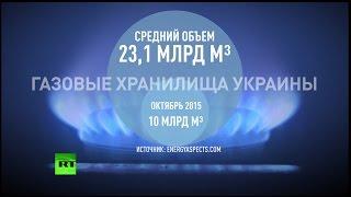 К октябрю 2015 года Киев может вновь столкнуться с дефицитом газа