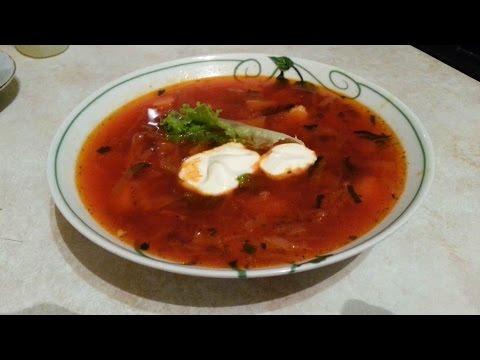 Вкуснейшее блюдо Как приготовить ПРАВИЛЬНЫЙ БОРЩ (рецепт от Marosok)
