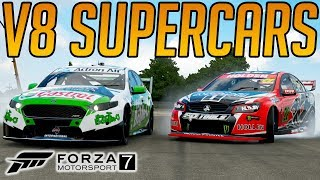 Forza 7 Super Racing in V8 Supercars