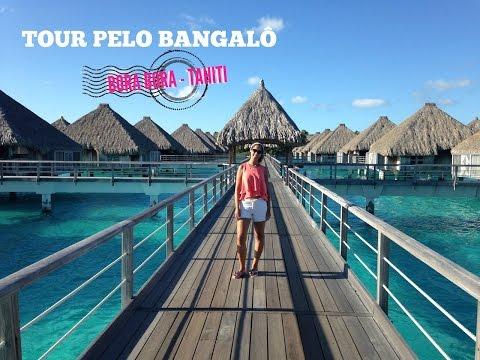 [Vlog] Tour pelo Bangalô que usamos em Bora Bora no Tahiti