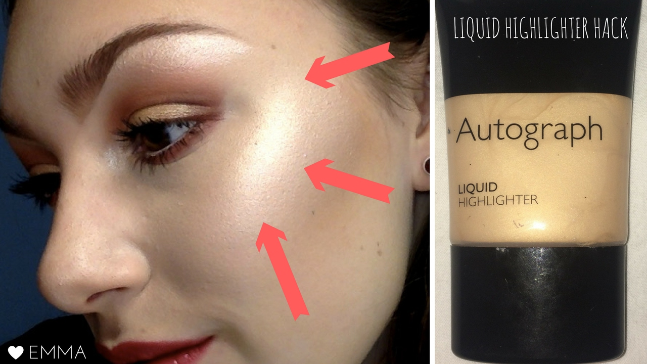 EASY BEAUTY HACK: How to apply liquid highlighter [CC] | Cruelty Free Strobing #CITF