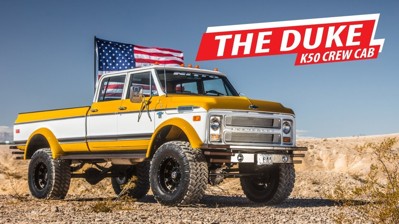 Driving Line: Ride of the Week - 1972 K50 Crew Cab - YouTube