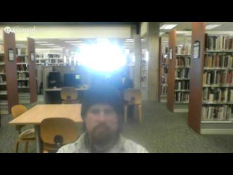 Being Quiet at Port Angeles Library