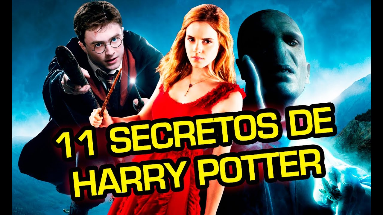 Libros De Harry Potter Online 11 Secretos De Personajes De Harry Potter Youtube