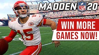 Madden 20 Basic Tips 101 - HOW TO BE UNSTOPPABLE