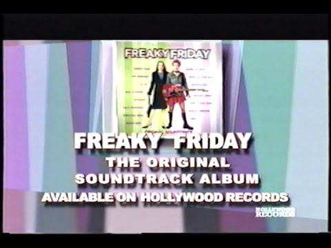 Freaky Friday Soundtrack (2003) Promo (VHS Capture)