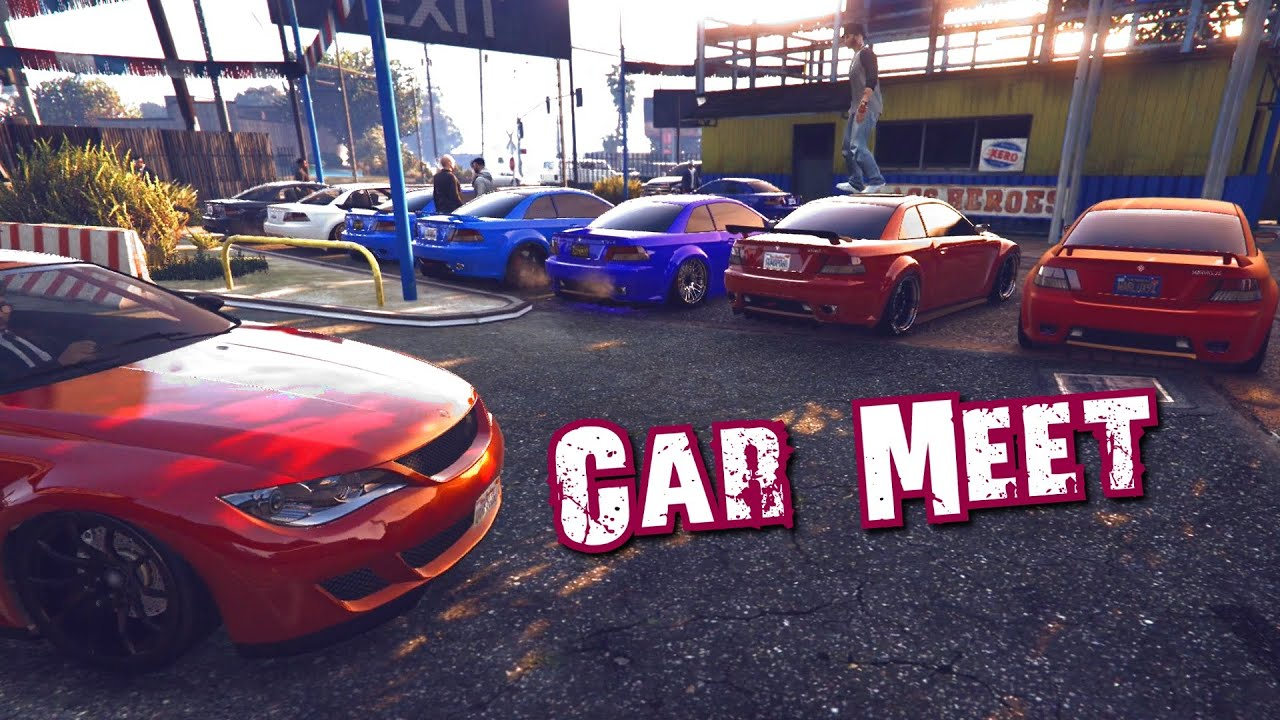 Gta 5 - BMW Auto Park - Car Meet - YouTube