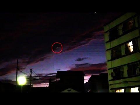9月12日群馬県前橋市の上空にUFOを目撃