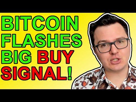 Bitcoin Flashing HUGE Buy Signal! [Crypto News 2021]