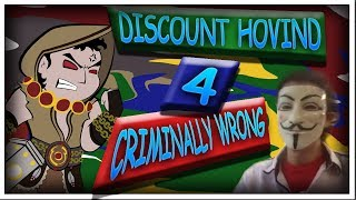Discount Hovind 4,  WRONG about CRIME!