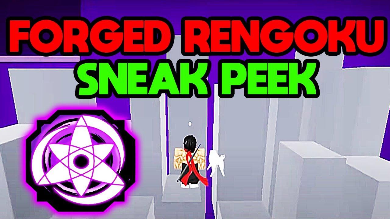 [NEW UPDATE] *NEW* FORGED RENGOKU SNEAK PEEK! KAMUI IS OP!! | Shindo Life Codes | Shindo Life