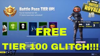 NEW TIER 100 GLITCH FORTNITE 100% WORKS - 2018 SEASON 6