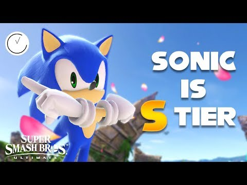 SONIC IS S TIER - Super Smash Bros Ultimate Highlights thumbnail