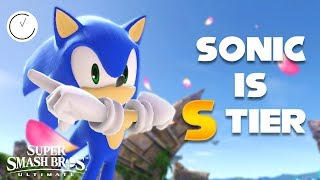 SONIC IS S TIER - Super Smash Bros Ultimate Highlights